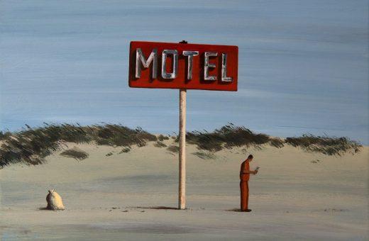 ZhiYong Jing dipinge realtà assurde