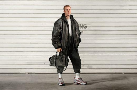 The new Balenciaga campaign with Justin Bieber