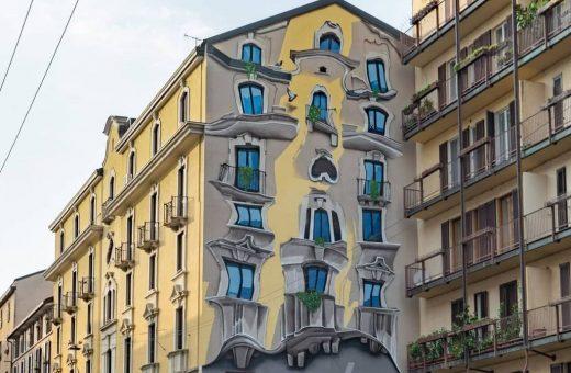 Milano come Barcellona grazie al murale di Cheone