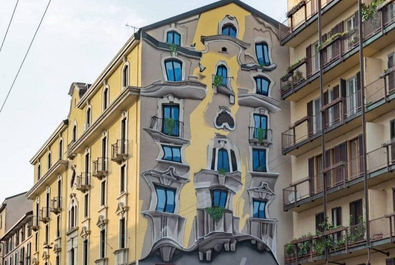 Milan like Barcelona thanks to Cheone's mural