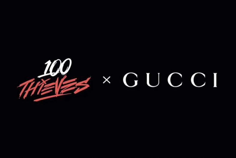 Gucci torna nel mondo gaming grazie alla collaborazione con 100 Thieves