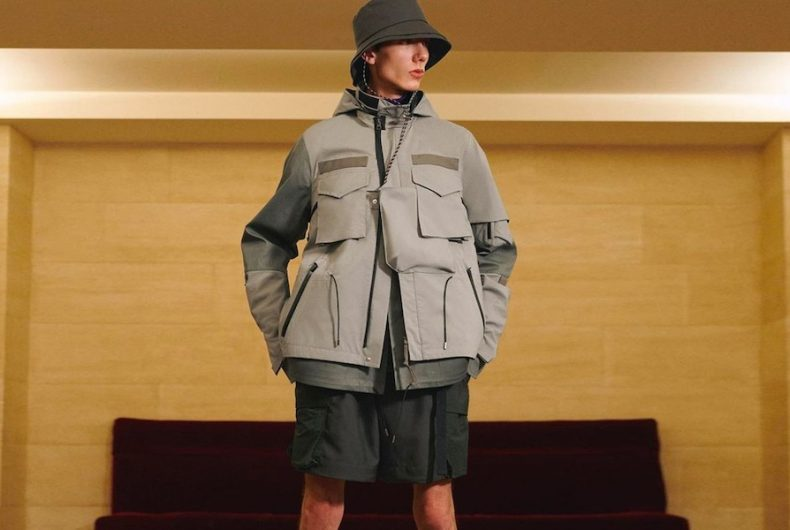 Coming soon a collaboration between sacai and ACRONYM