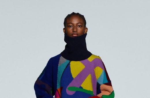 """Wearable art"", the collaboration between sacai and KAWS"