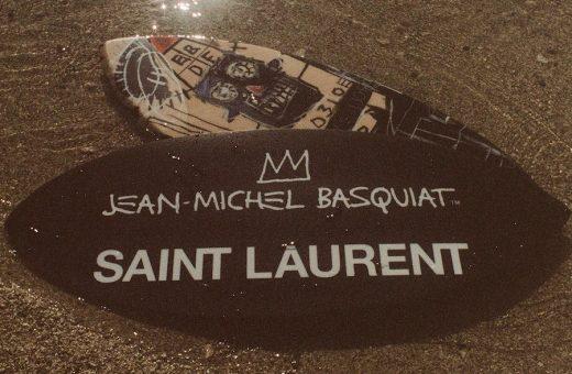 Saint Laurent Rive Droite rende omaggio a Jean-Michel Basquiat