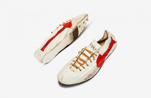 The $1 million running shoes at auction at Sotheby's and more