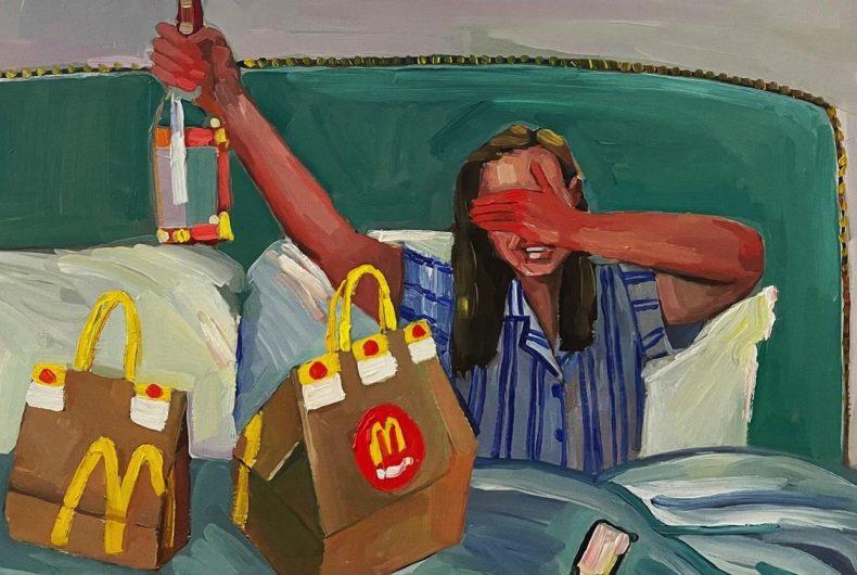La vita moderna nei dipinti di Erika Lee Sears