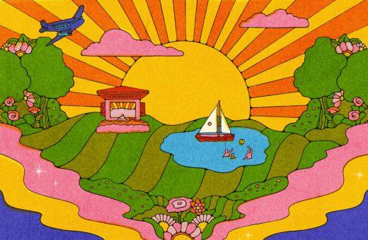 Kate Dehler's psychedelic illustrations