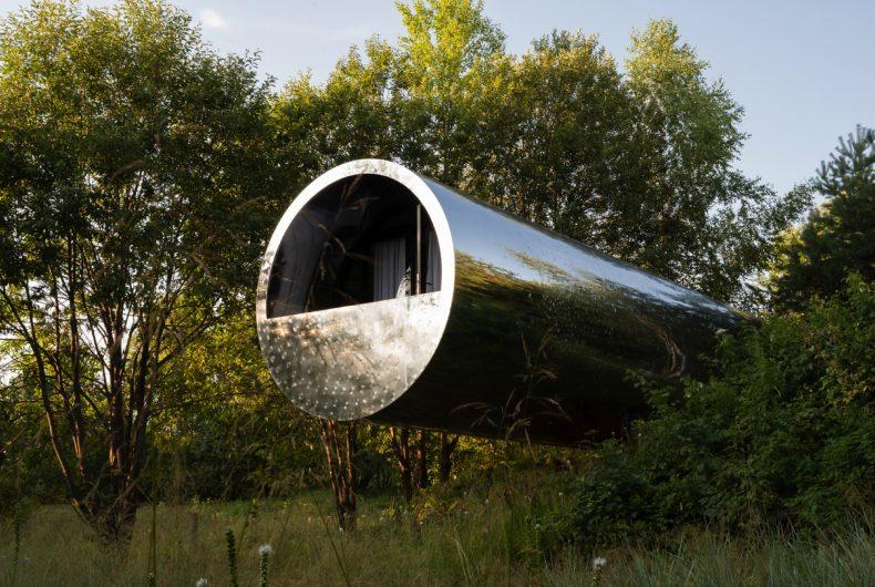 """""""Russian Quintessential"""", la casa a forma di tubo"""