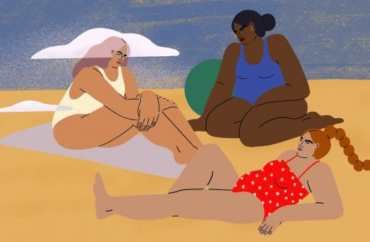 Stephanie DeAngelis illustrates women exactly as they are