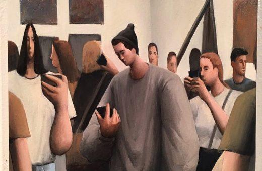 Tony Toscani paints melancholy