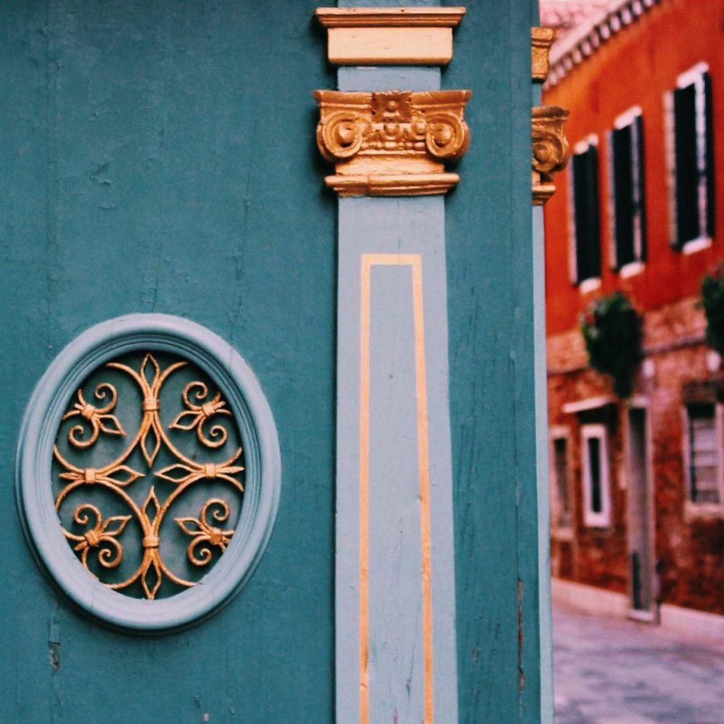 Venice in pattern