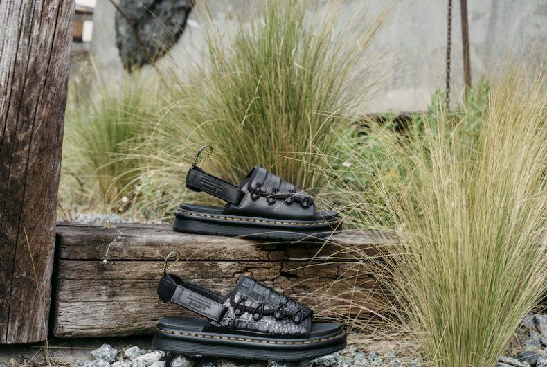 La nuova collezione di sandali di Dr. Martens e Suicoke
