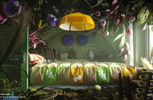 If the interiors of Studio Ghibli films were real