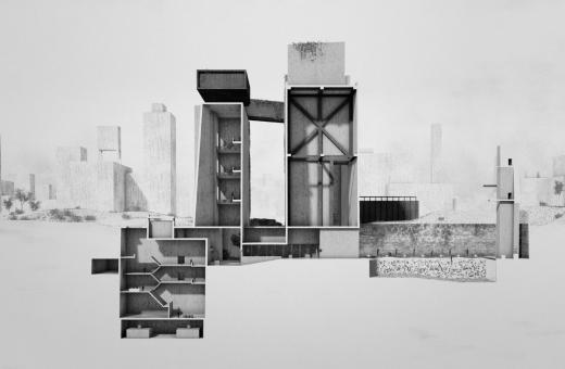 Utopia, dentro un mausoleo immaginario nella città modernista di Le Corbusier