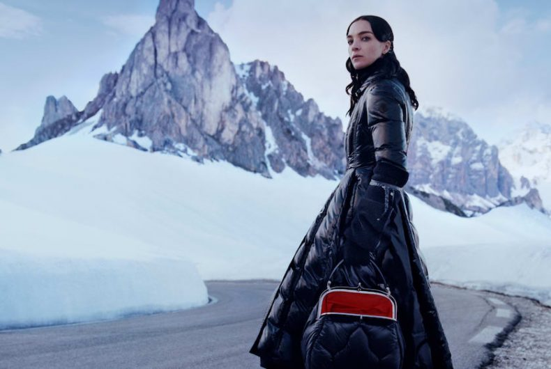 The dualism in the collection 2 Moncler 1952 woman by Veronica Leoni