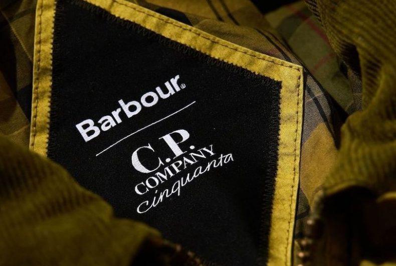La nuova collezione C.P. Company x Barbour