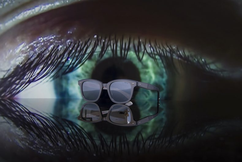 I nuovi occhiali oversize di Slam Jam x GLCO