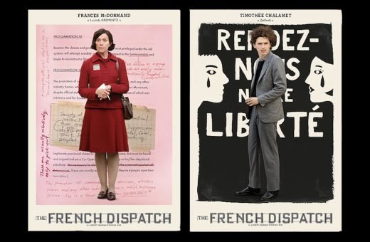 """New posters have been released for """"The French Dispatch"""""""