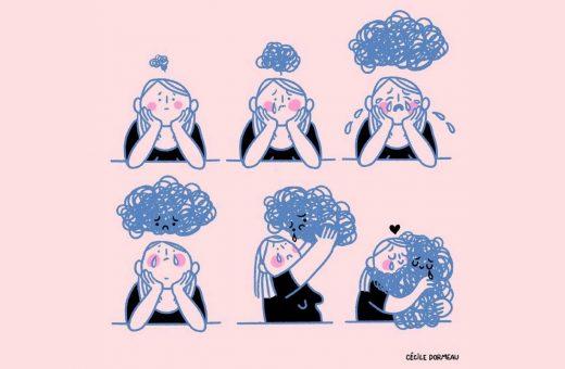 Cécile Dormeau illustrates what it means to be a woman