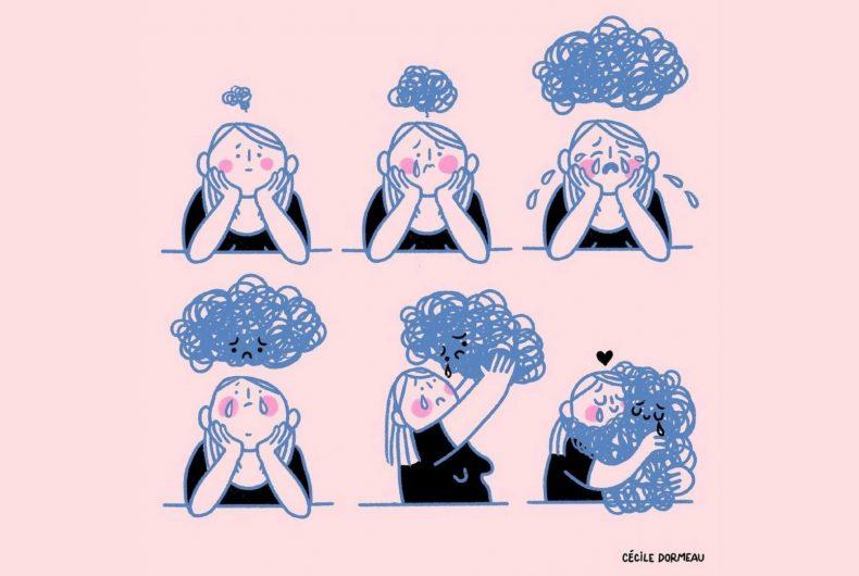 Cécile Dormeau illustra cosa vuol dire essere donna