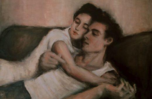 Diletta Innocenti Fagni turns emotions into paintings