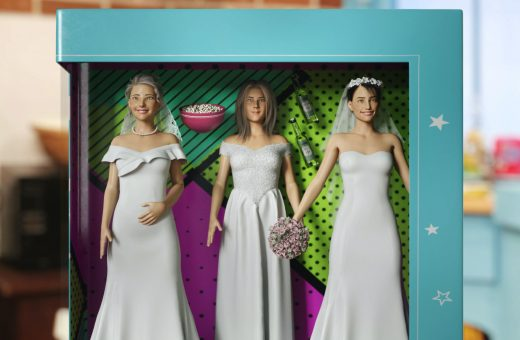 Friends characters become Barbies