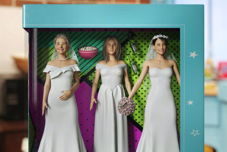 I personaggi di Friends diventano delle Barbie