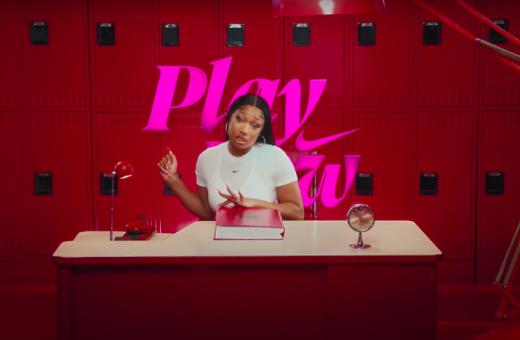 "Megan Thee Stallion nel nuovo video Nike ""Play Now"""