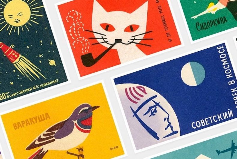 Beautiful matchboxes from Eastern Bloc Countries