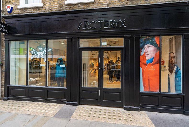 Il primo Arc'type Store europeo di Arc'teryx