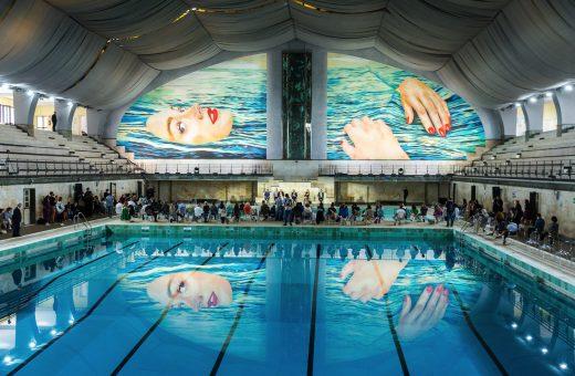 BE WATER, il murale di TOILETPAPER per il Fuorisalone