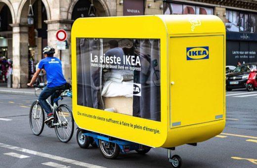 IKEA capsules to sleep in while travelling around Paris