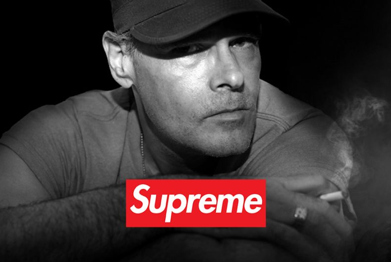 James O'Barr, the artist behind the collabo The Crow x Supreme