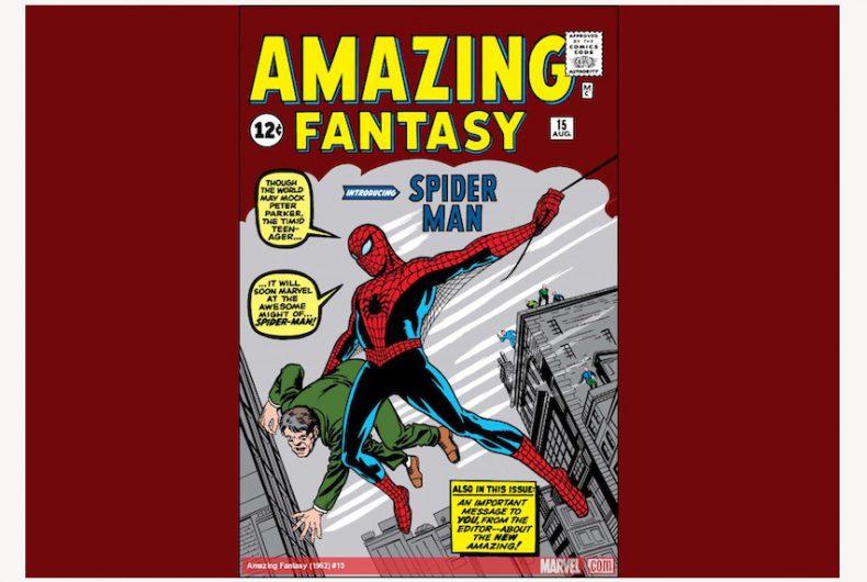 Il fumetto sulle origini di Spider-Man è il più costoso della storia