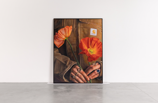 Lucas Price's pictorial hyperrealism for Carhartt