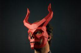 Maschere di carta Fai da Te per Halloween