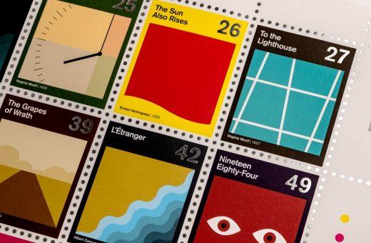 84 francobolli ispirati ai grandi romanzi
