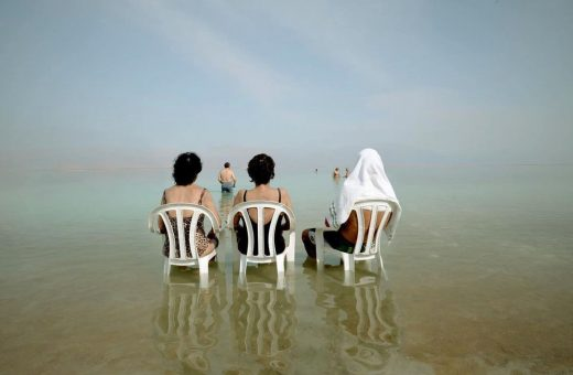 The Dead Sea in the shots by Alexander Bronfer