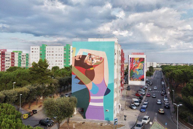 16 nuovi murales per Taranto grazie a T.R.U.St.