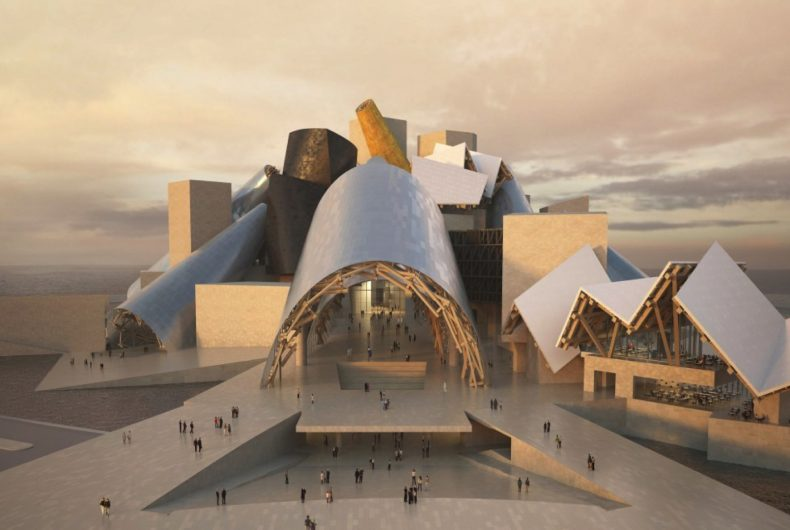 Frank Gehry's Guggenheim Abu Dhabi to open in 2026