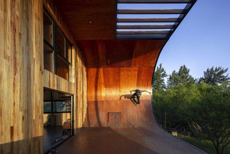 Una casa skateabile in Argentina