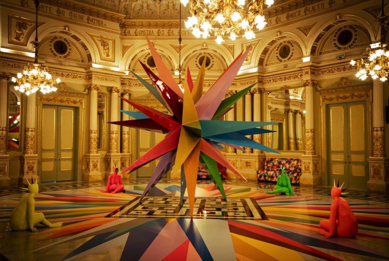 L'arte di Okuda San Miguel invade il Gran Teatre del Liceu di Barcellona