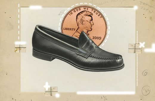 Why do we put pennies in Penny Loafers?
