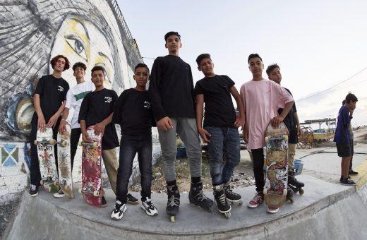 ANTI-DO-TO x Gaza Freestyle, lo skatepark di Gaza è completo