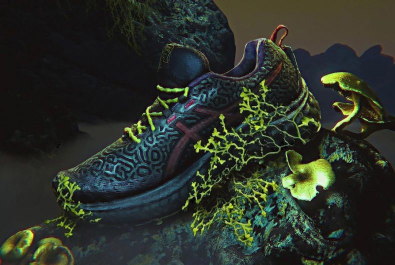 """The new """"extraterrestrial"""" project by ASICS and Brain Dead"""