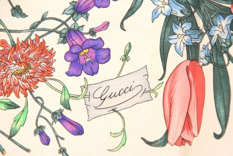 """The Story of """"Flora"""", Gucci's Timeless Scarf"""