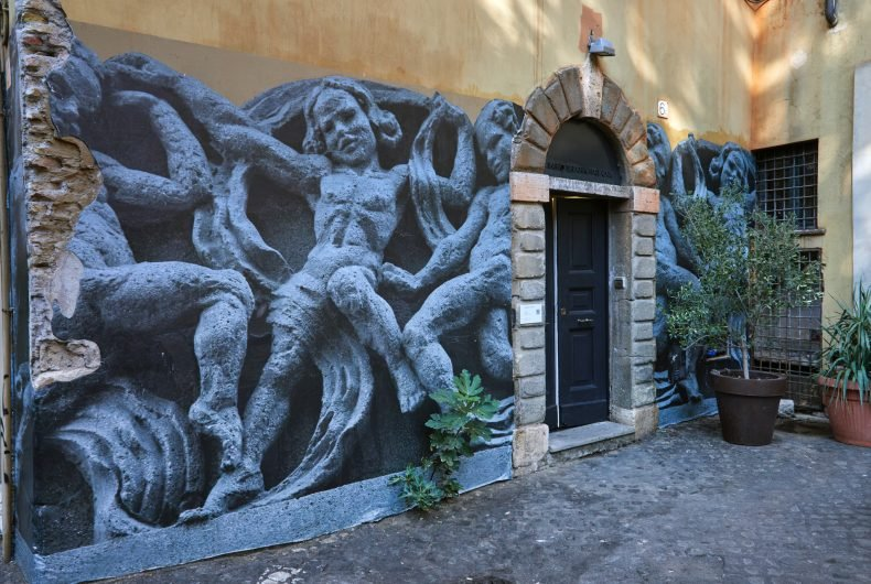 Italy and Poland united by street art