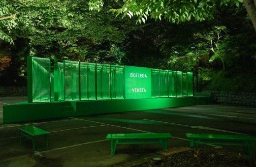 """""""The Maze"""", l'inquietante installazione di Bottega Veneta a Seoul"""